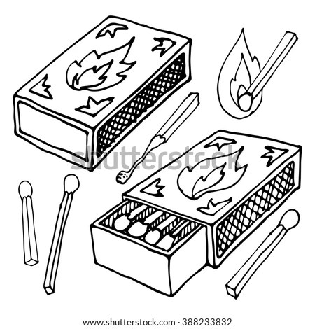 Matchstick Stock Photos, Royalty-Free Images & Vectors