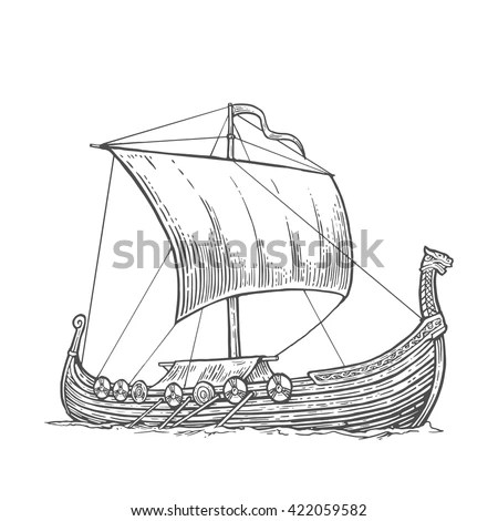 Viking Ship Stock Images, Royalty-Free Images & Vectors