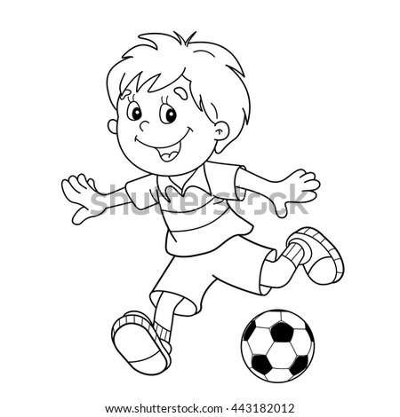 Cartoon Outline Stock Images, Royalty-Free Images