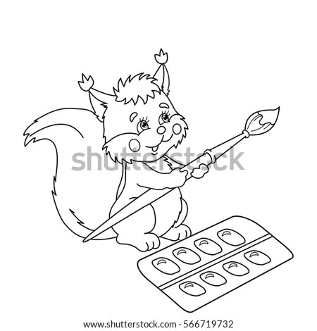 Squirrel Brush Stock Images, Royalty-Free Images & Vectors