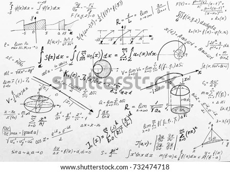 Advanced Calculus On Whiteboard Stock Photo (Royalty Free