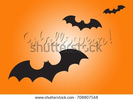 Halloween greeting card messages cartoonview happy halloween lettering greeting card message stock vector m4hsunfo