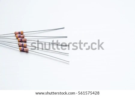 Resistor Passive Two Terminal Electrical Component Stock