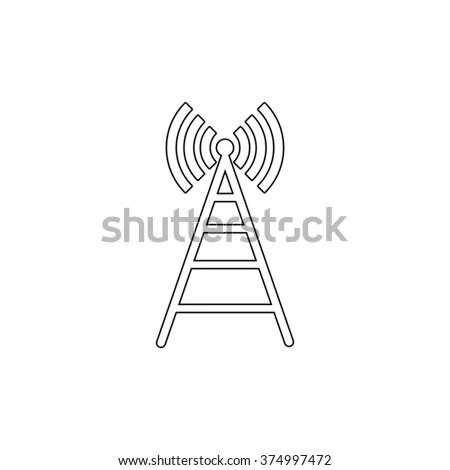 Vector Background Radio Signal Stock Vector 25843102