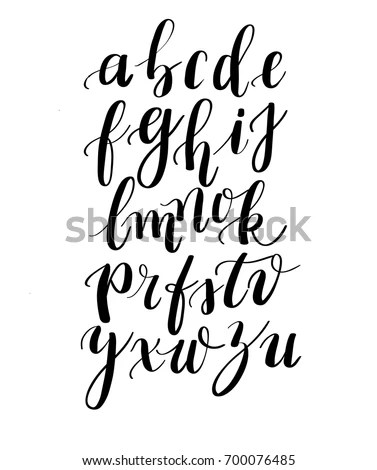 Calligraphy Handwritten Fonts Handwritten Brush Style