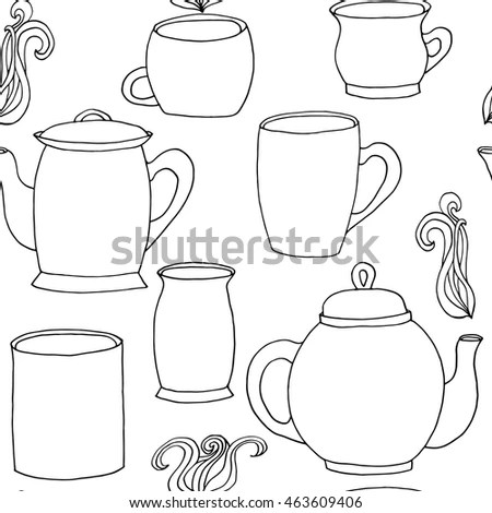 Paper Cup Robot Coloring Pages