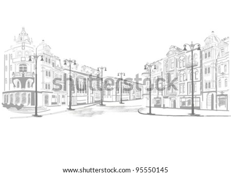 Old City Stock Images, Royalty-Free Images & Vectors
