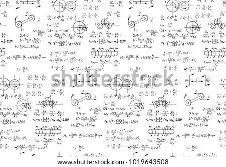 Rotation Mathematical Formulas Physical Equations Outlines