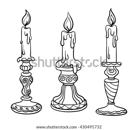 Candlestick Stock Images, Royalty-Free Images & Vectors