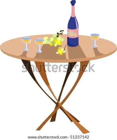 romantic dinner beach stock vectors