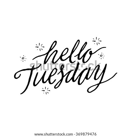 tuesday stock vectors & vector