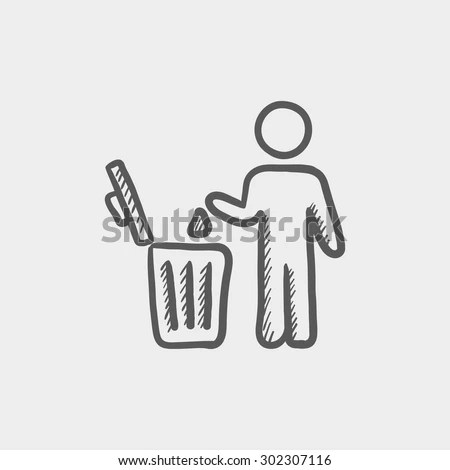 Waste-basket Stock Photos, Royalty-Free Images & Vectors