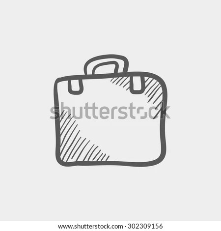 Sketch Briefcase Stock Images, Royalty-Free Images