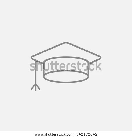 Graduation Hat Icon Stock Photos, Royalty-Free Images