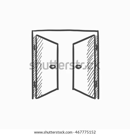 Door Drawing Stock Images, Royalty-Free Images & Vectors
