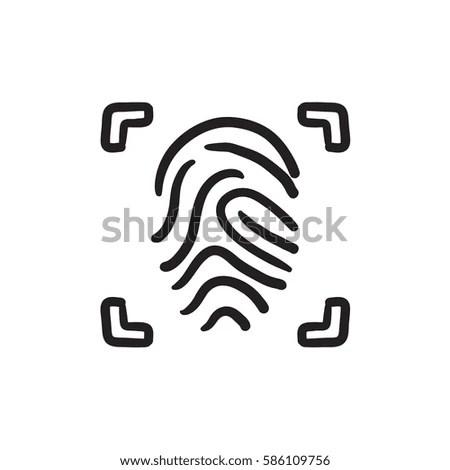 Fingerprint Sensor Stock Vectors, Images & Vector Art