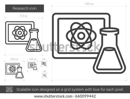 Chemical Laboratory Cartoon Background Vector Illustration
