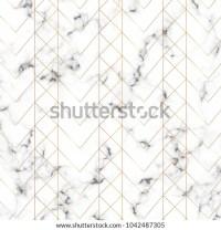 Modern Minimalist White Marble Texture Gold Stock Vector ...