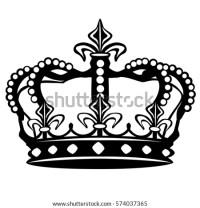 Crown Silhouette Clip Art Design Vector Stock Vector ...