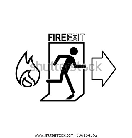 Fire Exit Stock Photos, Royalty-Free Images & Vectors