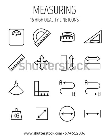 Math Icons Vector Geometric Shapes Other Stock Vector