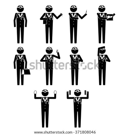 Stick Figure Icon Stock Photos, Royalty-Free Images