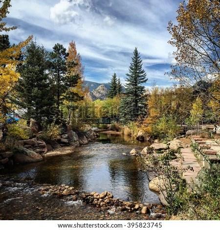 beautiful landscape estes park