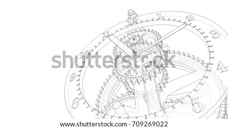 Clock Mechanism Stock Images, Royalty-Free Images