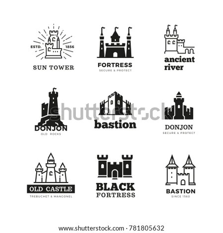 Fortress Logo Stock Images, Royalty-Free Images & Vectors