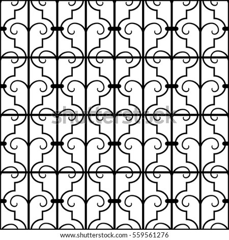 Wrought Iron Vector Stock Images, Royalty-Free Images