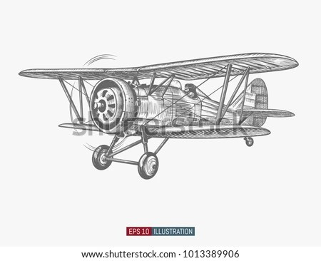Biplane Stock Images, Royalty-Free Images & Vectors