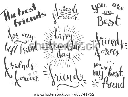 International Friendship Day Stock Images, Royalty-Free