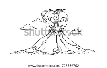 Volcano Isolated Stock Images, Royalty-Free Images