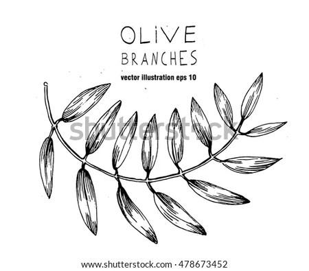 Black Flowers Vector Illustration Stock Vector 58234234