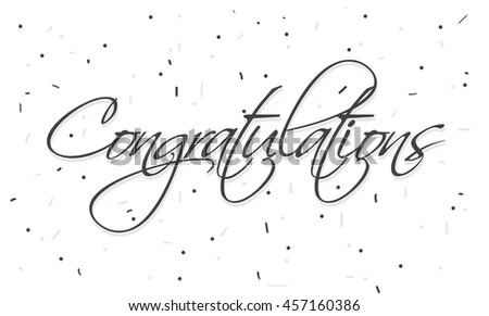 Congratulations Text Stock Images, Royalty-Free Images