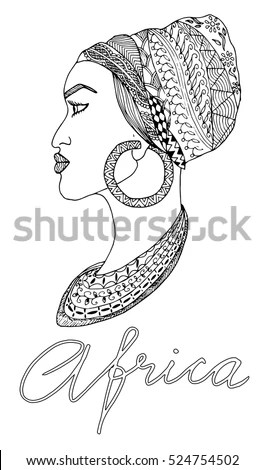 African Woman Silhouette Stock Images, Royalty-Free Images