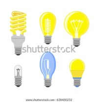 Cartoon Bulb Character Electric Light Stock Images ...
