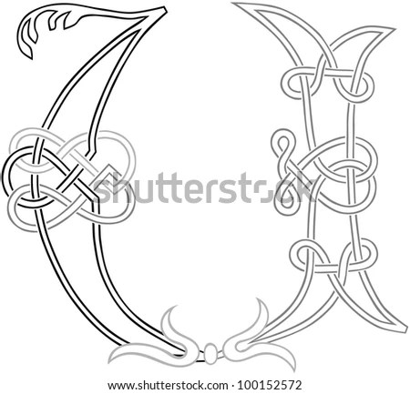 Illuminated Letters Stock Images, Royalty-Free Images