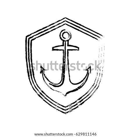 Vector Linear Heraldry Symbols Design Elements Stock