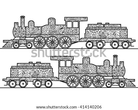 Colorful Train Stock Images, Royalty-Free Images & Vectors