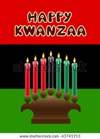 Kwanzaa Candles Stock Images Royalty Free Images