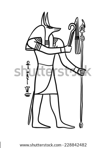 Egyptian Symbols Stock Images, Royalty-Free Images