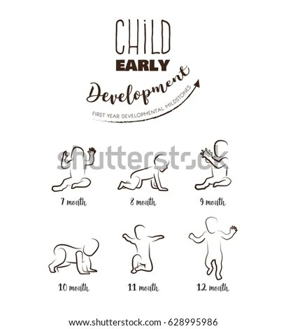 Stages Human Growth Development Stock Images, Royalty-Free