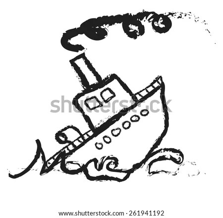 Sinking Ship Cartoon Stock Images, Royalty-Free Images