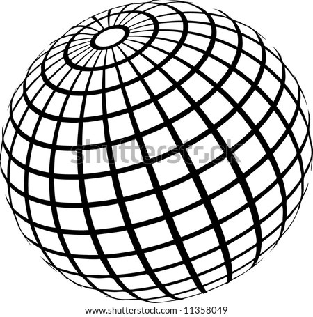 Wireframe globe Stock Photos, Images, & Pictures
