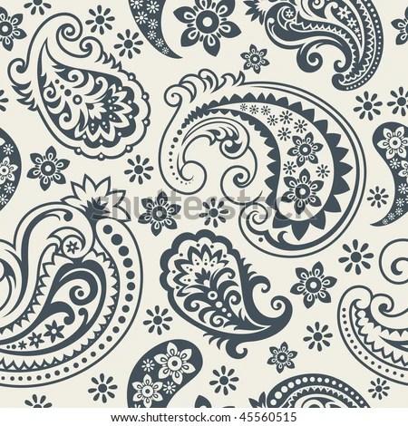 paisley pattern stock royalty-free