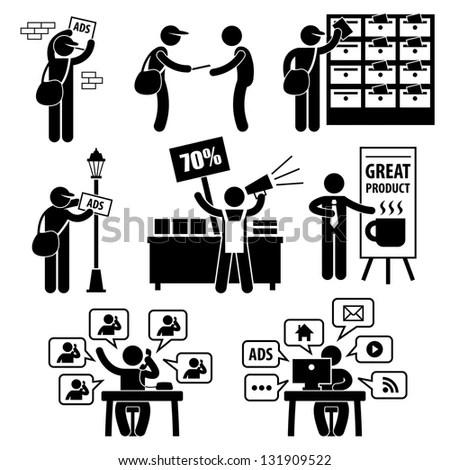 Advertisement Marketing Strategy Distributing Banner