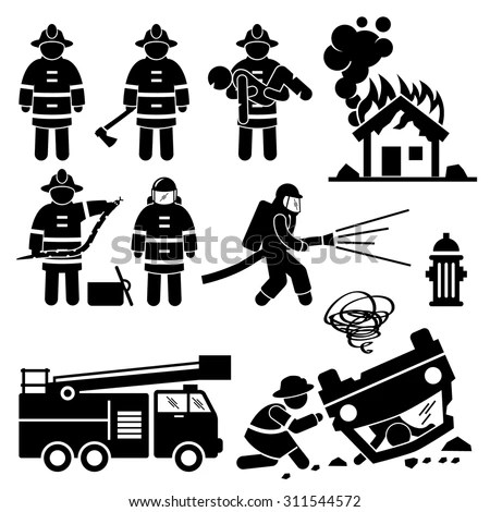 Fireman Stock Images, Royalty-Free Images & Vectors