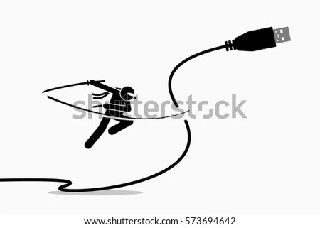 Cut Cord Stock Images, Royalty-Free Images & Vectors