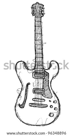 Guitar Doodle Stock Images, Royalty-Free Images & Vectors